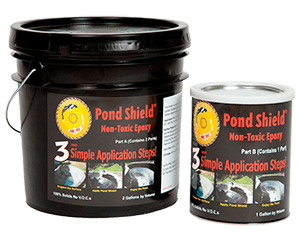 Pond Shield non-Toxic Epoxy Liner - 1 gallon