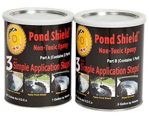 Pond Shield non-Toxic Epoxy Liner - half gallon